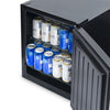 Image of NewAir Froster 90 Can Freestanding Mini Beer Fridge in Stainless Steel