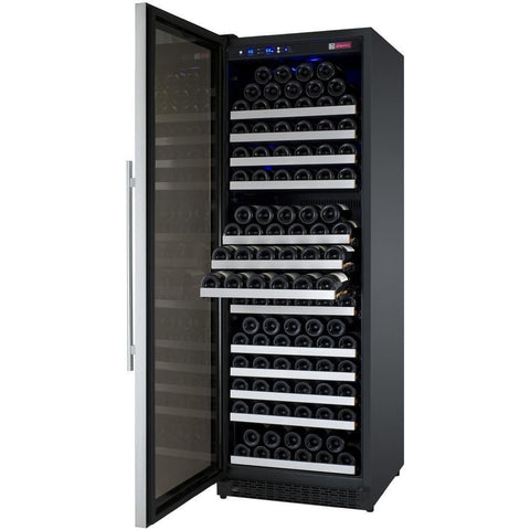 Allavino II LH Stainless 177-Bottle Single Zone Wine Fridge