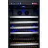 Image of Allavino II LH Stainless 177-Bottle Single Zone Wine Fridge