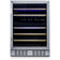 "NewAir 24"" Wide Built-in 46 Bottle Dual Zone Wine Refrigerator AWR-460DB"