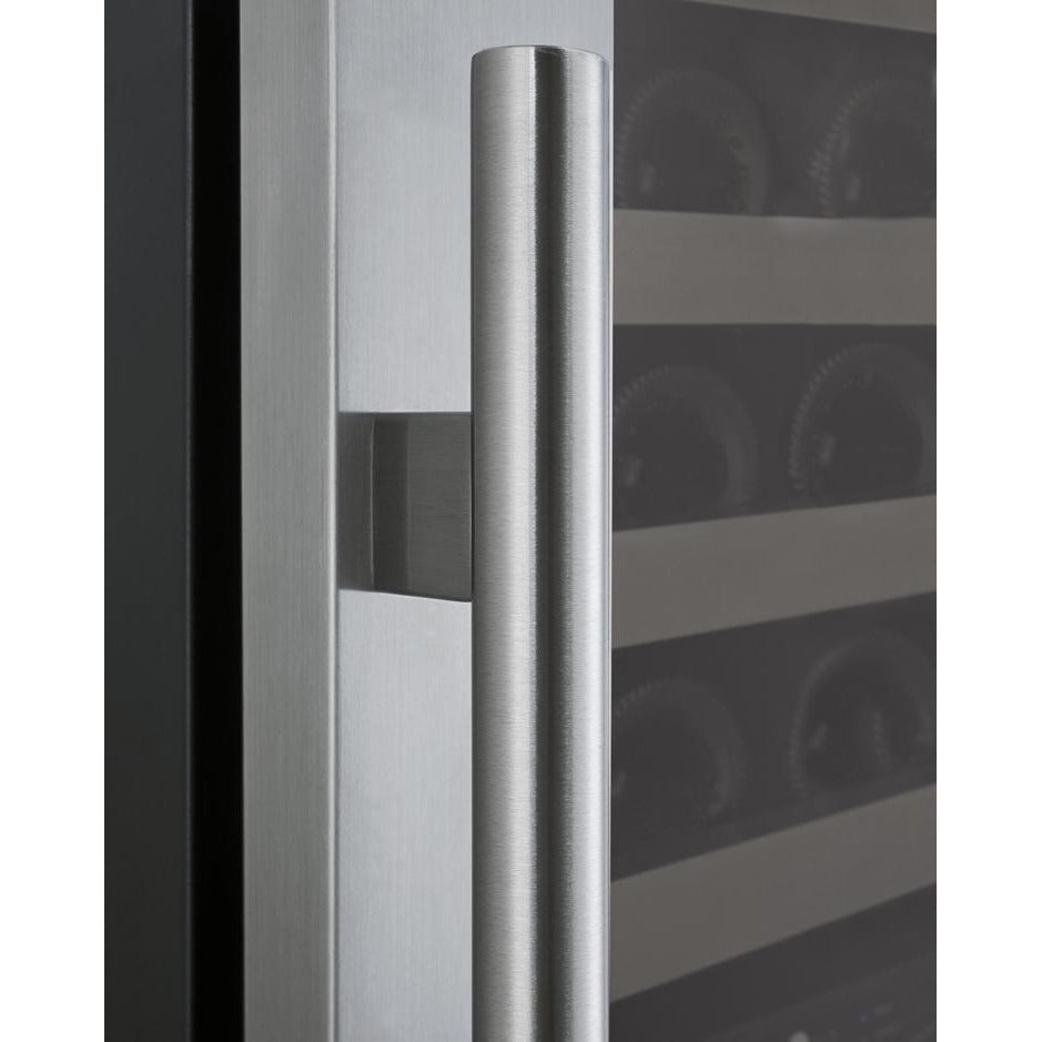 Allavino II LH Stainless 172-Bottle Dual Zone Wine Fridge