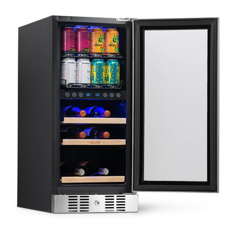 NewAir Premium Beverage Cooler 15-inch