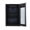 Image of NewAir Beer Fridge Froster 125 Can Freestanding in Black with Party and Turbo Mode