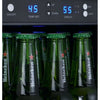 Image of Allavino Stainless 24-Inch Undercounter Beverage Center