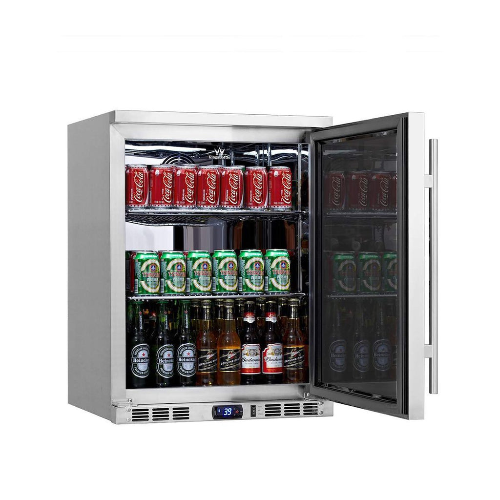 Kings Bottle 24-Inch Outdoor Undercounter Refrigerator