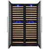 Image of Allavino FlexCount Stainless Multi Zone 346-Bottle Wine Fridge