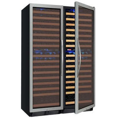 Allavino FlexCount Stainless Multi Zone 346-Bottle Wine Fridge