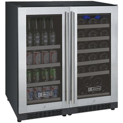 Allavino Dual Zone Stainless 30-Inch Beverage Center