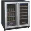 Image of Allavino Dual Zone Stainless 30-Inch Beverage Center