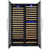 Image of Allavino Classic FD Stainless Multi Zone 346-Bottle Wine Fridge