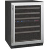 Image of Allavino Stainless RH 50-Bottle Dual Zone Wine Cooler