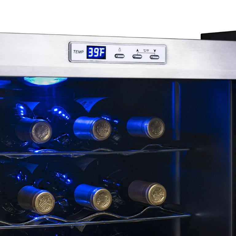 NewAir 27-Bottle Compressor Wine Fridge