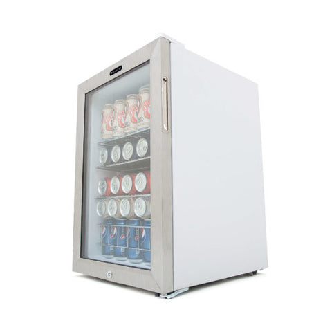 Whynter 90-Can Small Beverage Fridge with Glass Door