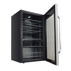Whynter 121-Can Small Beverage Fridge with Glass Door