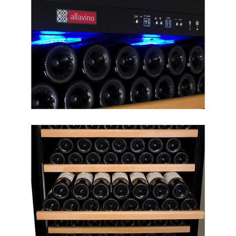 Allavino Stainless 300-Bottle Wine Fridge