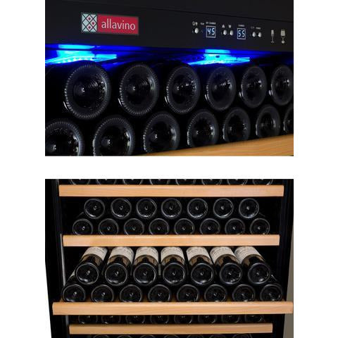 Allavino Vite II Stainless LH 305-Bottle Wine Fridge