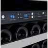 Image of Allavino II RH Stainless 172-Bottle Dual Zone Wine Fridge