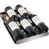 Image of Allavino Stainless 30-Bottle Dual Zone Wine Cooler