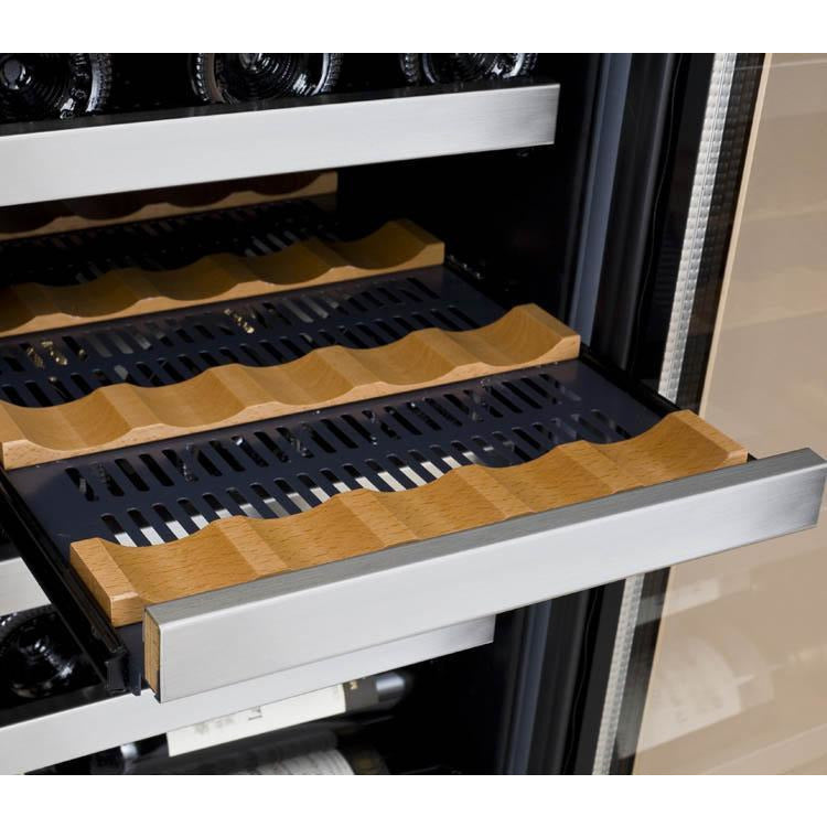 Allavino Stainless 30-Bottle Dual Zone Wine Cooler