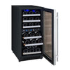 Image of Allavino 30-Bottle Dual Zone Wine Cooler Stainless Steel