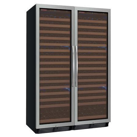 Allavino Classic FD Stainless Dual Zone 348-Bottle Wine Fridge