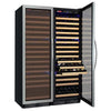 Image of Allavino Classic FD Stainless Dual Zone 348-Bottle Wine Fridge