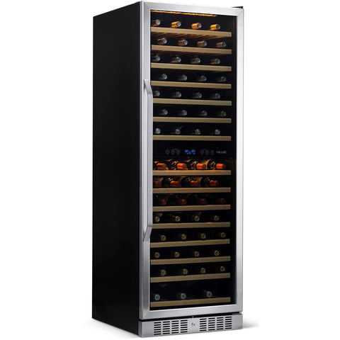 NewAir AWR-1600DB Premier Gold Series 160-Bottle Wine Cooler