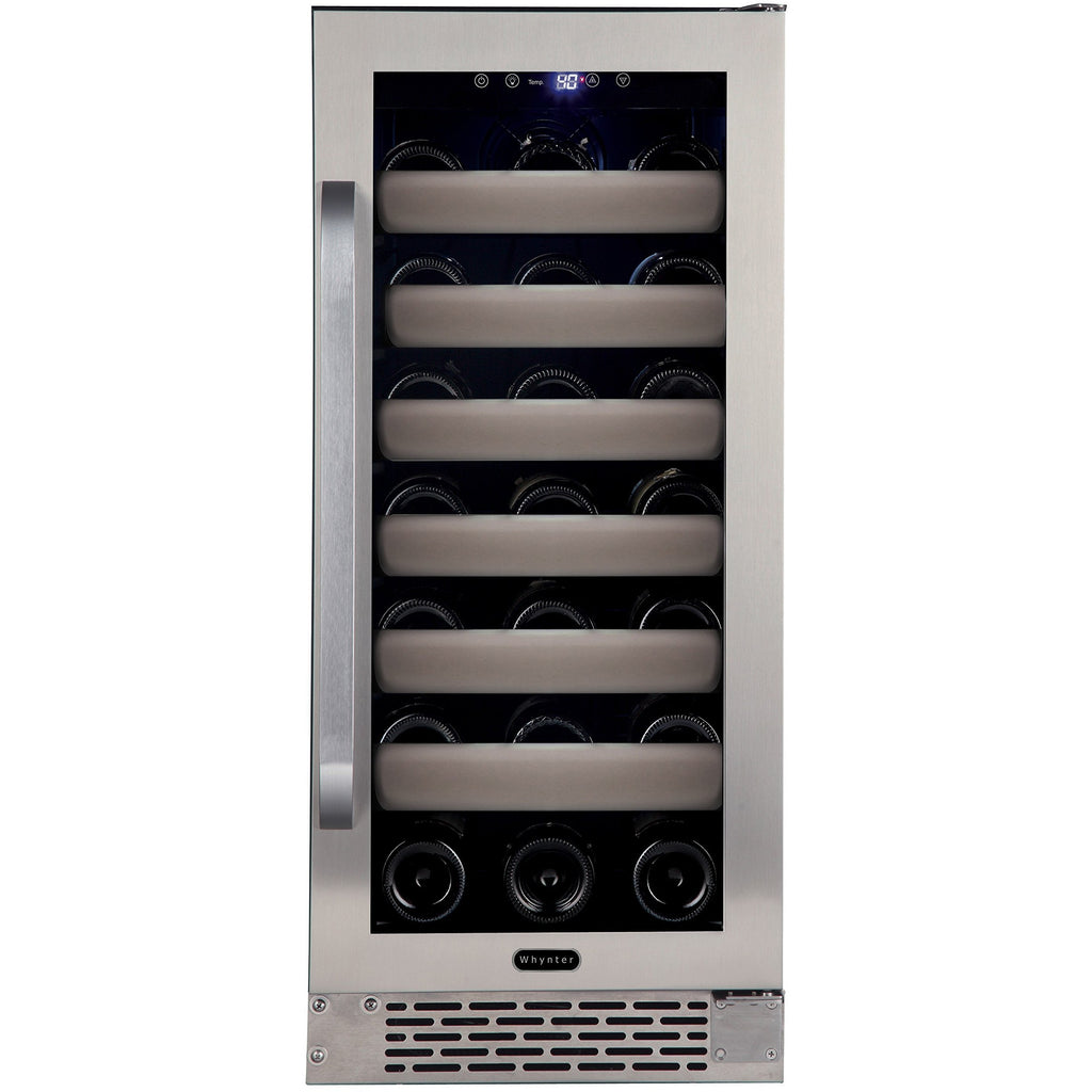Whynter 33 Bottle Elite Series Single Zone Convertible Wine Cooler