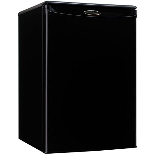 2.6 CuFt. Compact All Refrig, Auto Cycle Defrost, Energy Star - Black