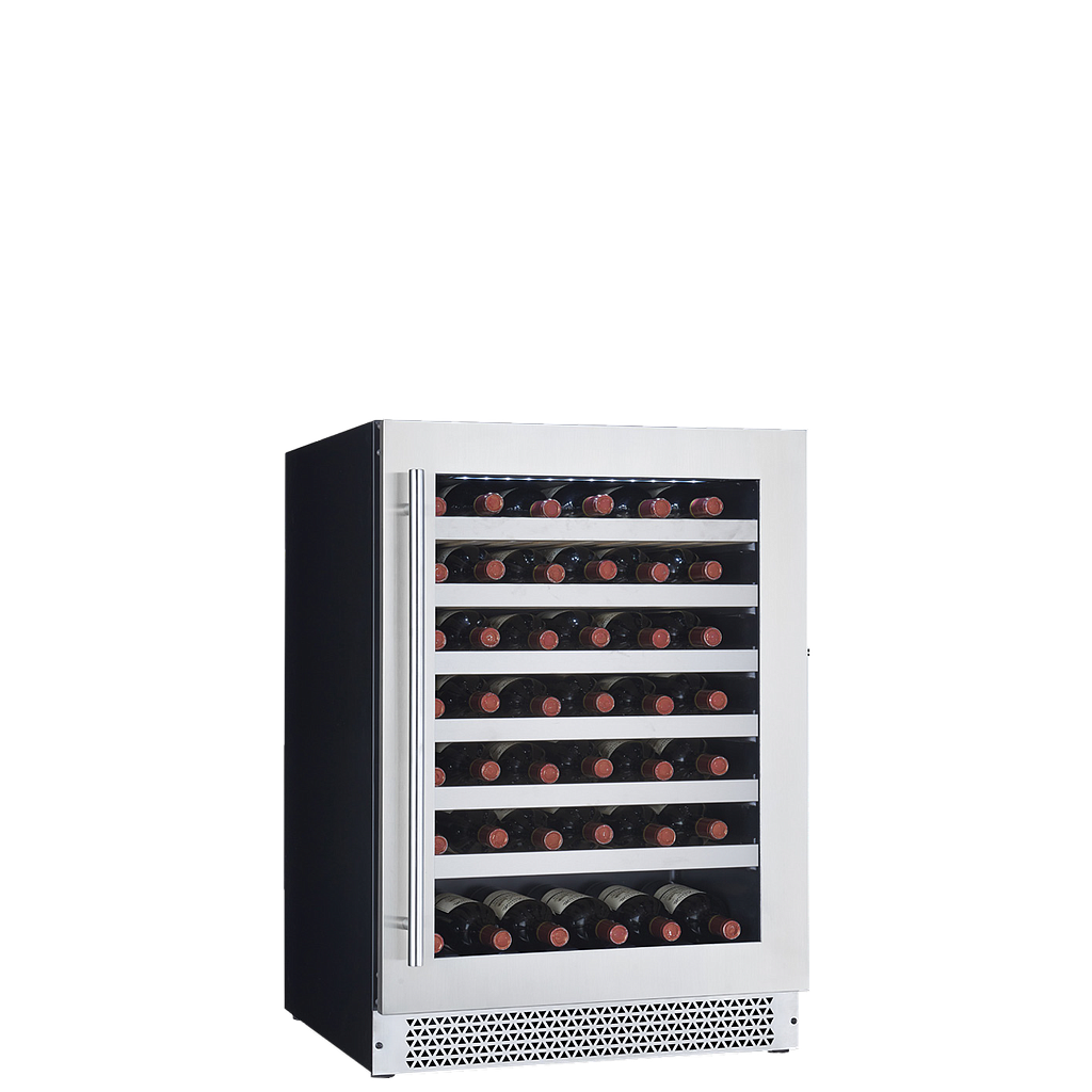 "Cavavin V-048WSZ Single Zone 24"" Wine Cellar Stainless Steel"