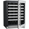 "Image of Cavavin V-048WSZ Single Zone 24"" Wine Cellar Stainless Steel"
