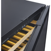 "Image of Cavavin V-041WDZFG Dual Zone 24"" Wine Cellar Black Glass"