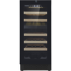 "Image of Cavavin V-024WDZFG Dual Zone 15"" Wine Cellar Black Glass"