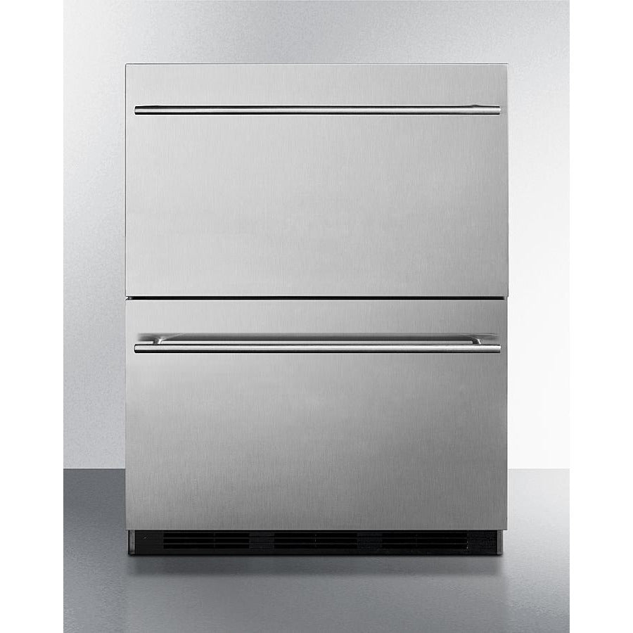 "24"" Wide 2-Drawer All-Refrigerator, ADA Compliant"