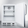 "Image of Summit Appliance 24"" Wide Built-In Freezer ACF48WCSSADA"