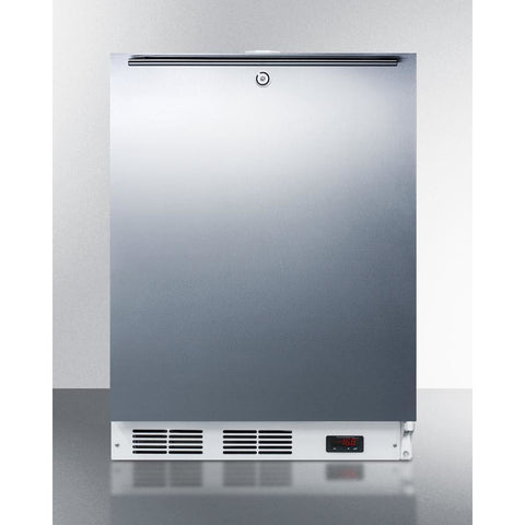 Summit Appliance 24-Inch Wide Freezer -- Top Handle