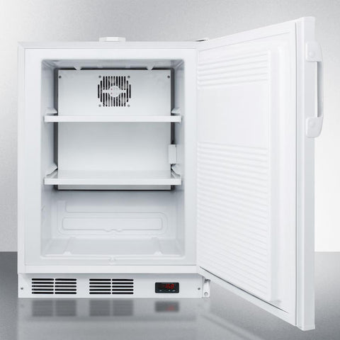 Summit White 24-Inch Wide Freezer A