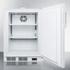 Image of Summit White 24-Inch Wide Freezer A