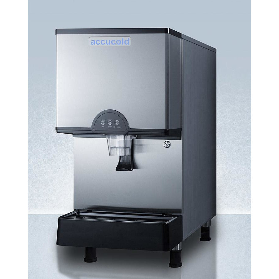 Accucold 282-lb Countertop Ice Maker with Filter