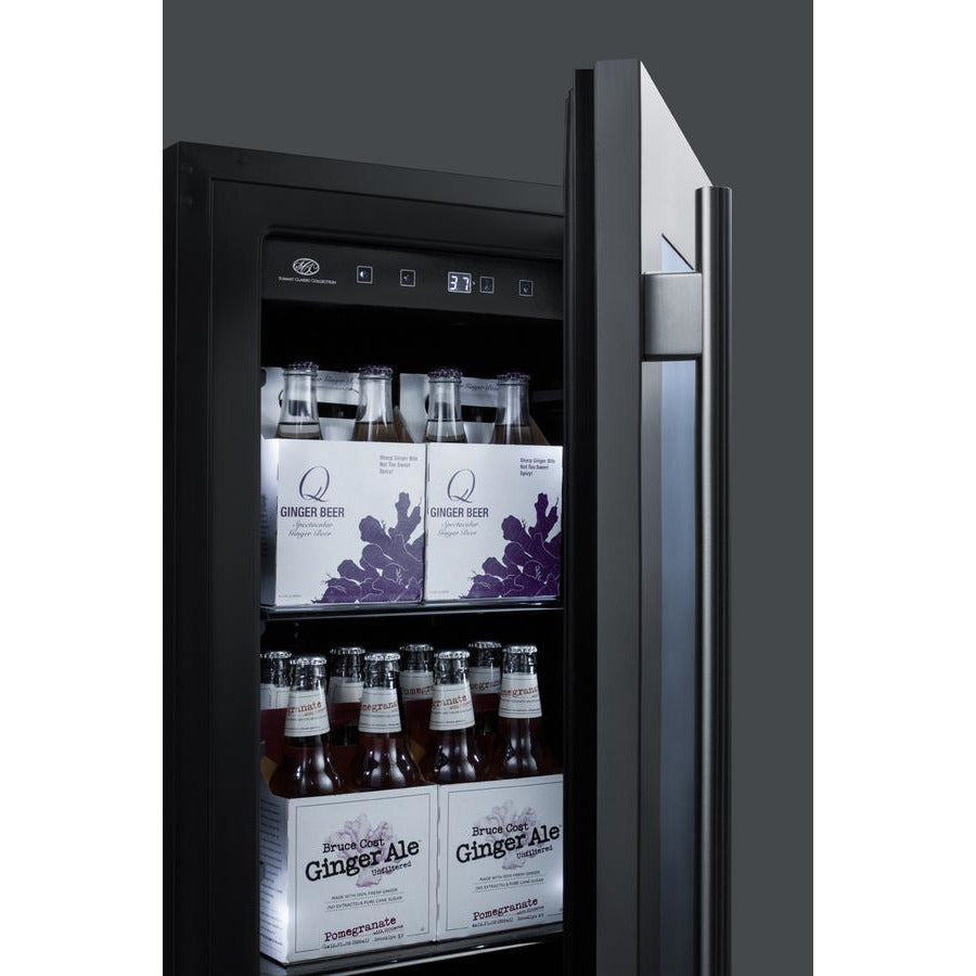Summit Stainless 18-Inch Beverage and Wine Cooler Combo