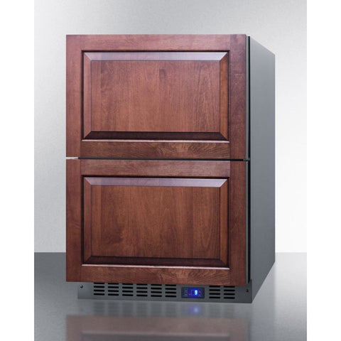 Summit Appliance 24-Inch 2-Drawer Freezer