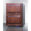 Image of Summit Appliance 24-Inch 2-Drawer Freezer