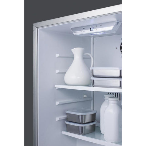 Summit White 24-Inch Outdoor Refrigerator