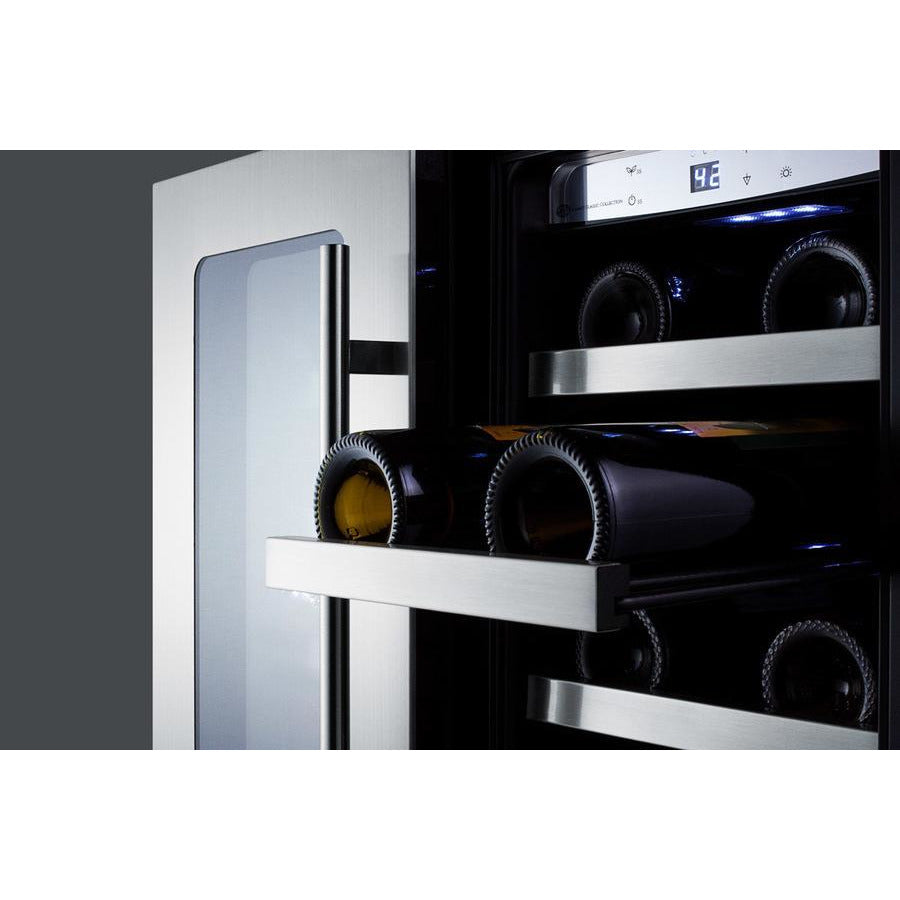 Summit 24-Inch Beverage and Wine Cooler Combo