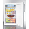 "Image of 20"" Wide Built-In Refrigerator-Freezer, ADA Compliant"