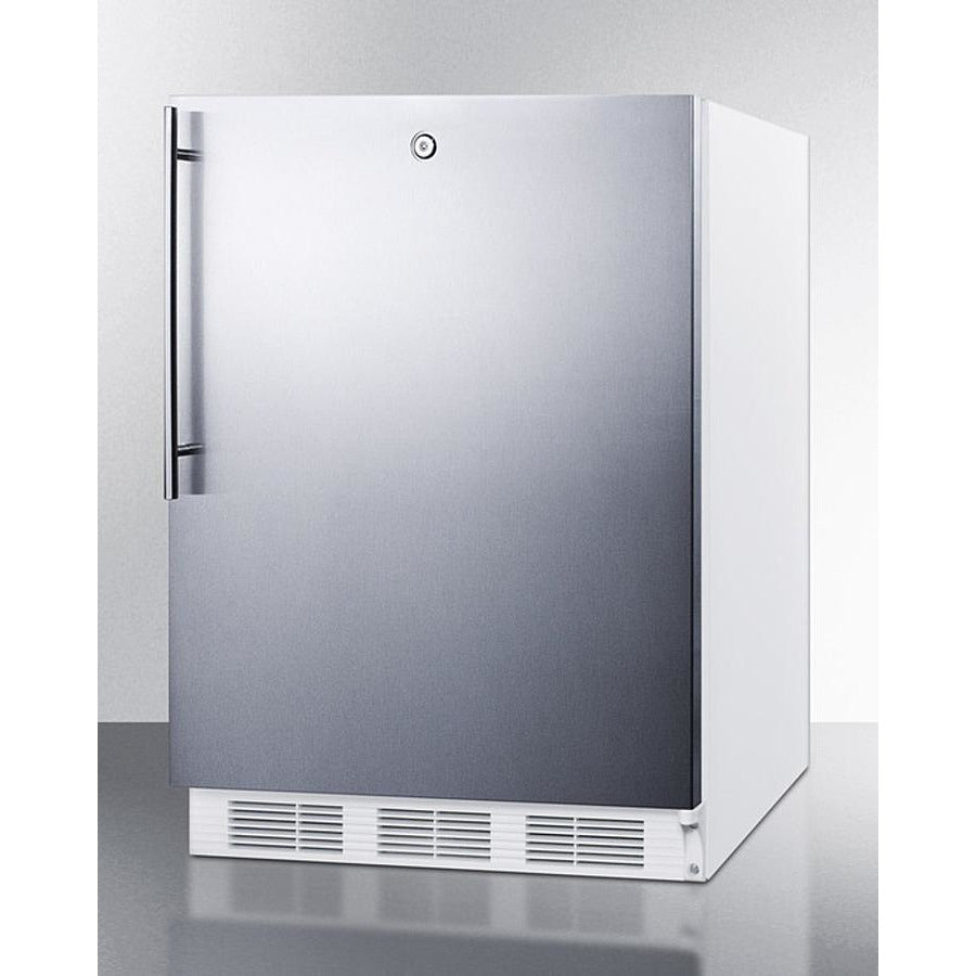 "24"" Wide Built-In Refrigerator-Freezer, ADA Compliant"