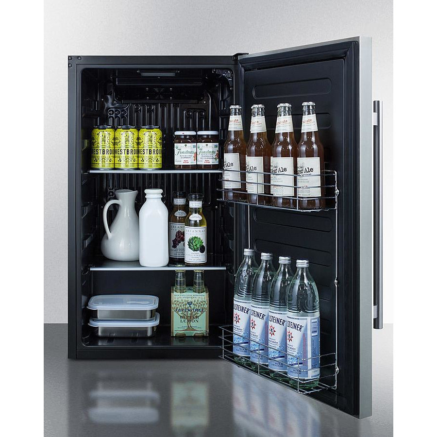 Shallow Depth Built-In All-Refrigerator, ADA Compliant