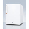 Image of Compact All-Refrigerator with Antimicrobial Pure Copper Handle