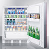 "Image of 24"" Wide Built-In All-Refrigerator, ADA Compliant"