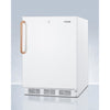 "Image of 24"" Wide Built-In All-Refrigerator with Antimicrobial Pure Copper Handle, ADA Compliant"
